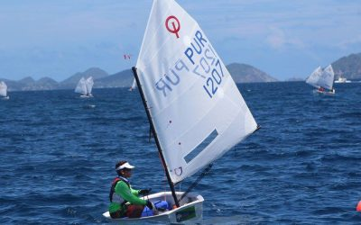 Strong BVI Sailing Team Performance at Back to School Regatta