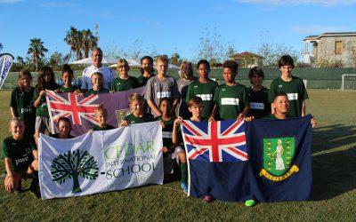 Cedar Football Players head to Bahamas