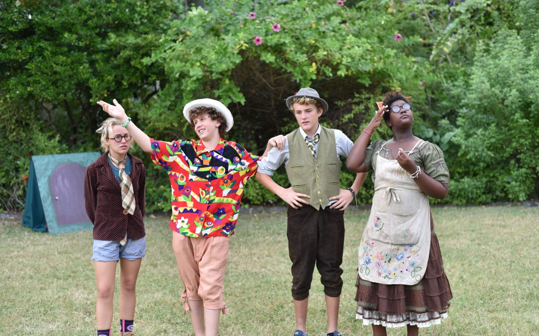 Cedar students shine in open air performance of 'The Wind in the Willows'