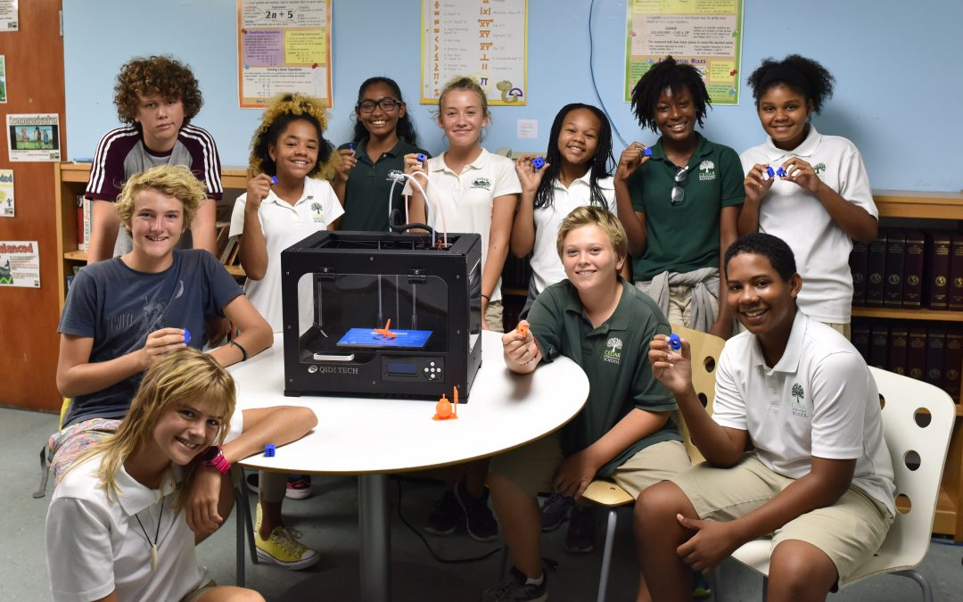Cedar International School embraces 3D Printing in Education