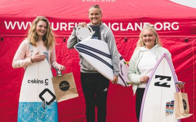 Cedar student crowned England's U18 Girls Surf Champion