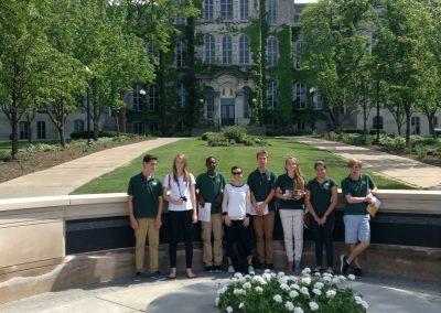 Cedar students visit Syracuse University