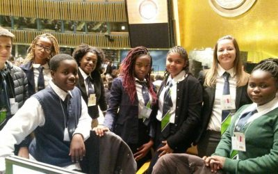 Cedar students participate in Model United Nations conference, New York