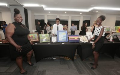Collaborative Art Exhibition brings BVI artists, students and institutions together. Over $2K raised for art programs.